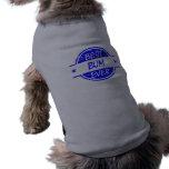 Best Bum Ever Blue Doggie T Shirt