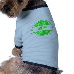 Best Bum Ever Green Pet T-shirt