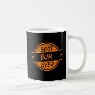 Best Bum Ever Orange Coffee Mug