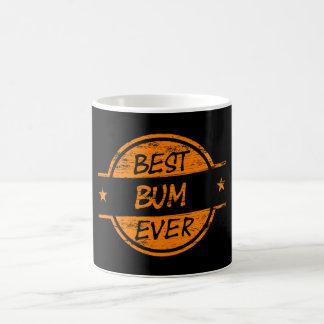 Best Bum Ever Orange Classic White Coffee Mug