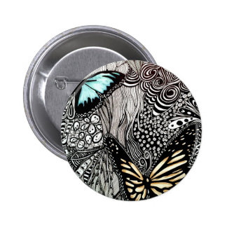 Best Butterfly Pic 6 Cm Round Badge