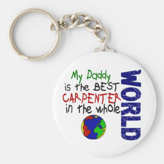 Best Carpenter In World 2 (Daddy) Key Chains