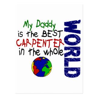 Best Carpenter In World 2 (Daddy) Postcard