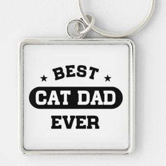 Best Cat Dad Ever Key Ring