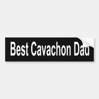 Best Cavachon Dad Bumper Sticker Dog