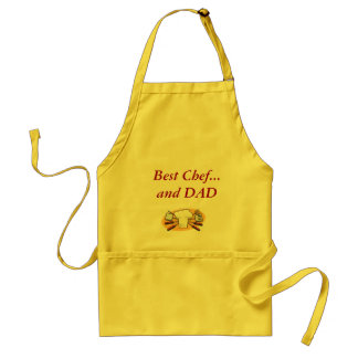 Best Chef...and DAD Standard Apron