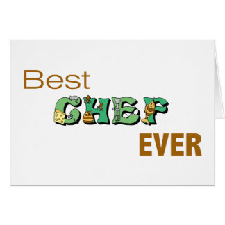 Best Chef Ever Cards