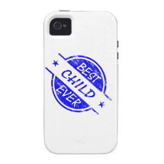 Best Child Ever Blue iPhone 4 Cases