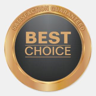 Best Choice Bronze Metallic Sticker