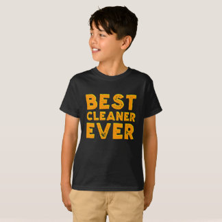 Best cleaner ever kid's shirt