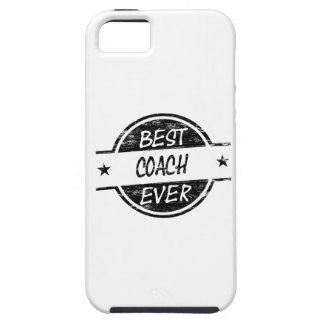 Best Coach Ever Black iPhone 5 Cover