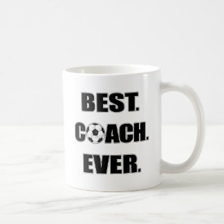Best Coach Ever Basic White Mug