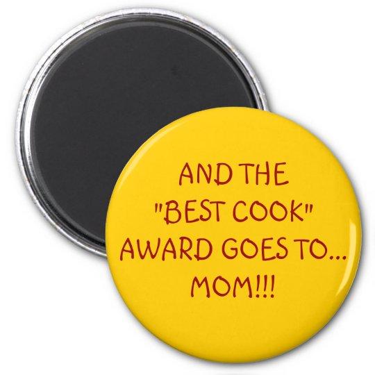BEST COOK AWARD MAGNET