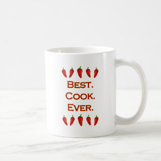 Best. Cook. Ever. - Chili Peppers Coffee Mug