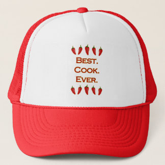 Best. Cook. Ever. - Chili Peppers Trucker Hat