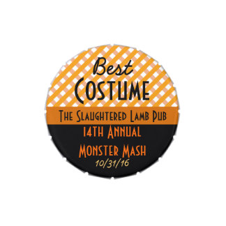 Best Costume Halloween Party Prize Jelly Belly Tin