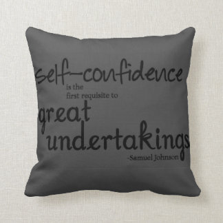 best cotton grayish throwing pillow