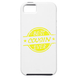 Best Cousin Ever Yellow iPhone 5 Covers