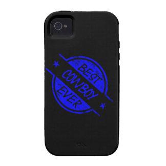 Best Cowboy Ever Blue iPhone 4/4S Case
