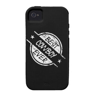 Best Cowboy Ever White Case-Mate iPhone 4 Covers