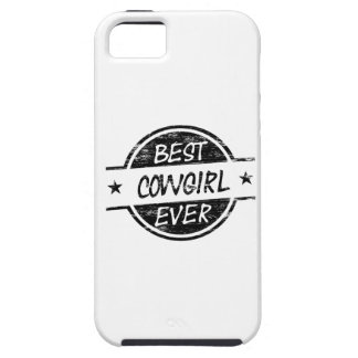 Best Cowgirl Ever Black iPhone 5 Case