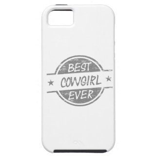 Best Cowgirl Ever Gray iPhone 5 Case