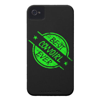 Best Cowgirl Ever Green Case-Mate iPhone 4 Case