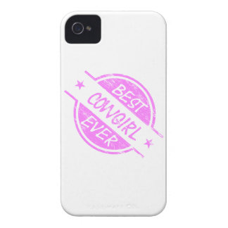 Best Cowgirl Ever Pink Case-Mate iPhone 4 Case