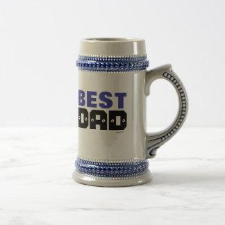 Best Dad Beer Stein Mug