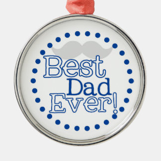 Best Dad Ever Christmas Ornament