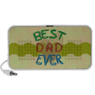 BEST DAD EVER Doodle Speaker