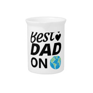Best dad Ever father Day men Pitcher