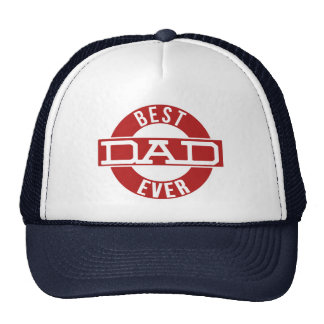 Best Dad Ever Fathers Day Gift Cap