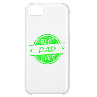 Best Dad Ever Green Case For iPhone 5C