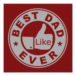 Best Dad Ever - Grey Custom Invite