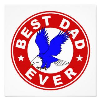 Best Dad Ever Custom Invitations