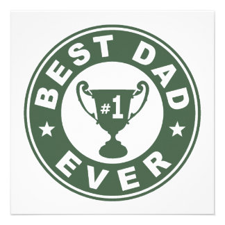 Best Dad Ever Personalized Invite