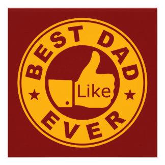 Best Dad Ever Custom Invite
