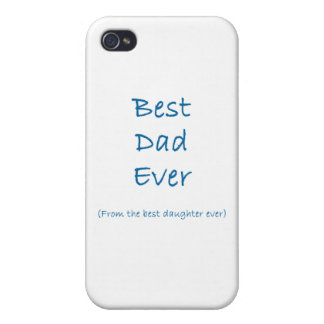 Best Dad Ever iPhone 4/4S Cover