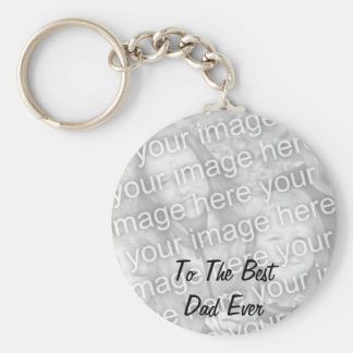 BEST DAD EVER PHOTO KEYCHAIN TEMPLATE