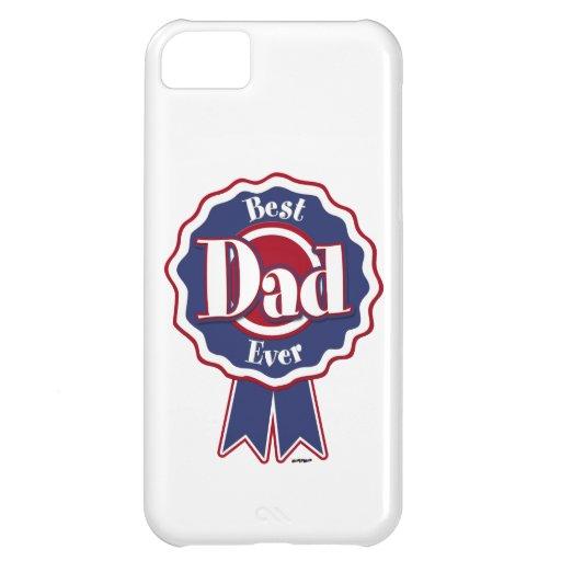 Best Dad Ever ribbon iPhone 5C Case