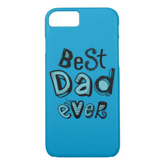 Best Dad Ever Typography iPhone 7 Case