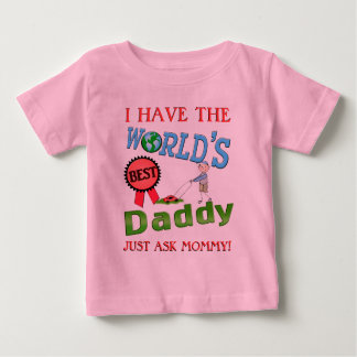 Best Dad Father's Day Baby T-Shirt