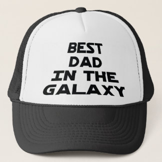 Best dad in the galaxy trucker hat