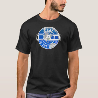 Best Dad in The World Fathers Day Gift T-Shirt