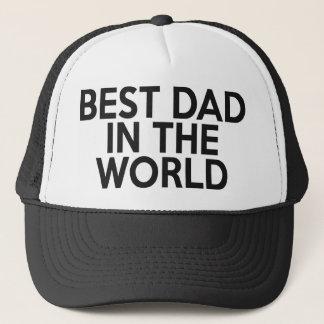 Best Dad In The World Trucker Hat