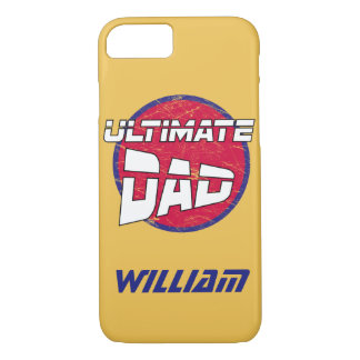 Best Dad Logo with Customisable Name and Colours iPhone 8/7 Case