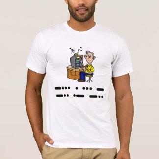 Best Dad Morse Code Ham Radio T-Shirt Customize It