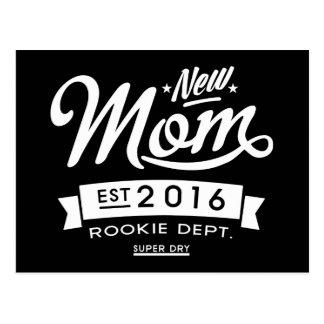 Best Dark New Mom 2016 Postcard
