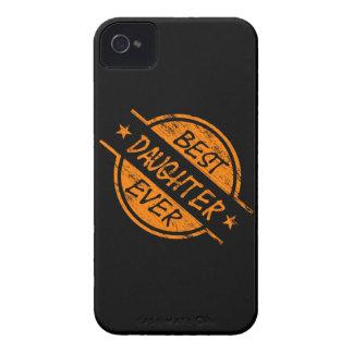 Best Daughter Ever Orange Case-Mate iPhone 4 Case